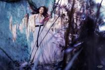 Xiao Wen Ju by Stéphane Sednaoui (Wonder In Aliceland - CR Fashion Book #4 Spring-Summer 2014) 2
