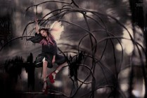 Xiao Wen Ju by Stéphane Sednaoui (Wonder In Aliceland - CR Fashion Book #4 Spring-Summer 2014) 4